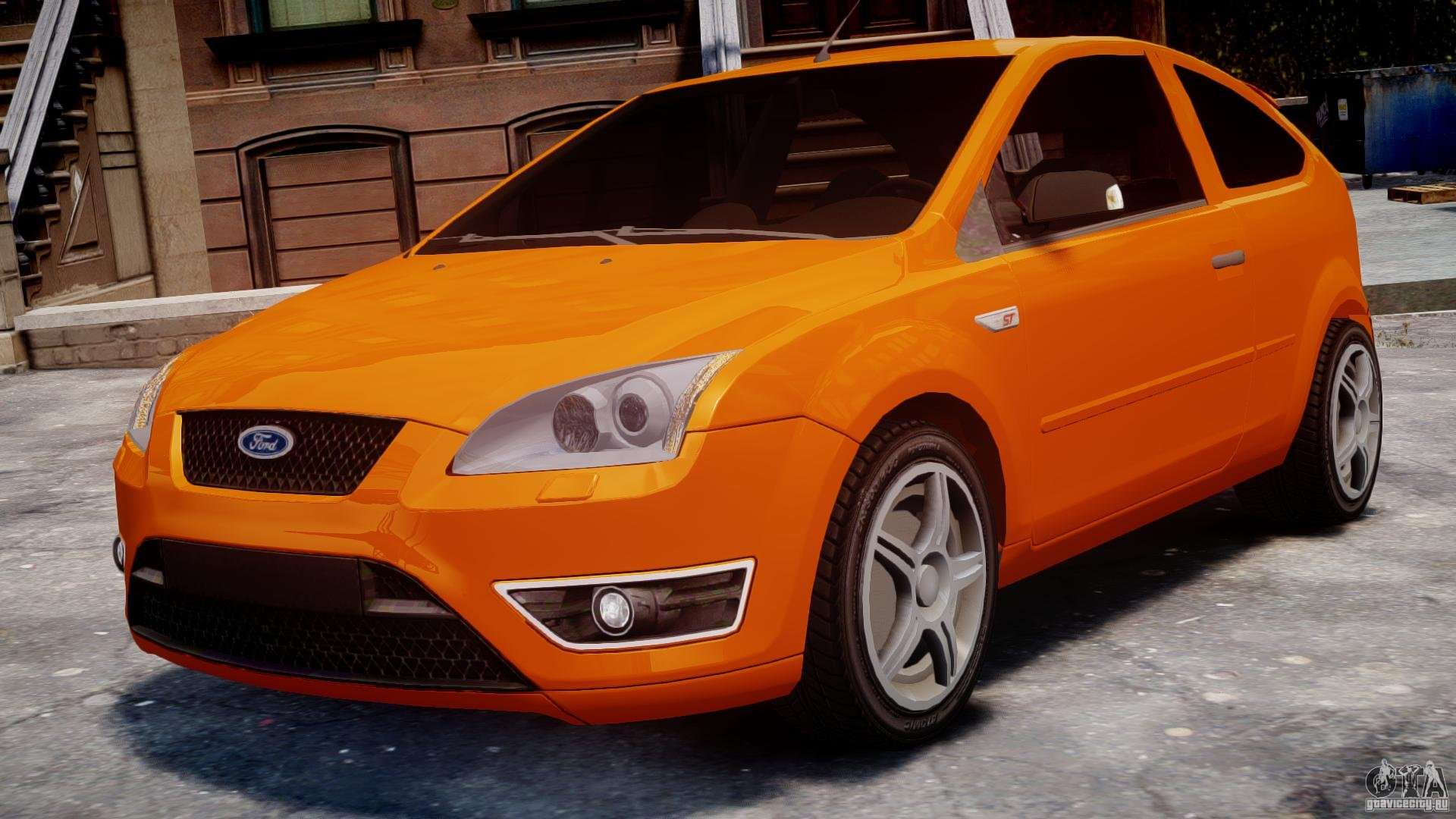 ford focus st for gta 4. Black Bedroom Furniture Sets. Home Design Ideas