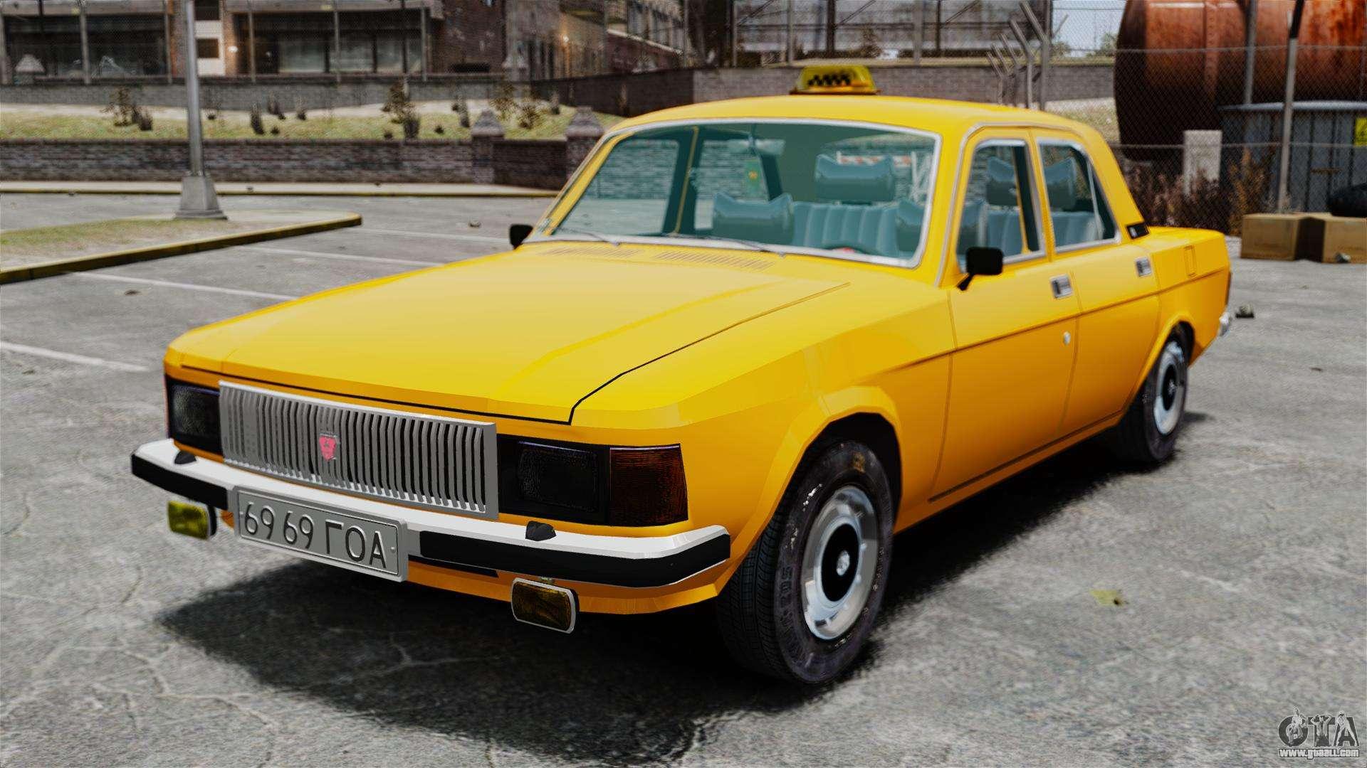 gaz 3102 taxi for gta 4. Black Bedroom Furniture Sets. Home Design Ideas