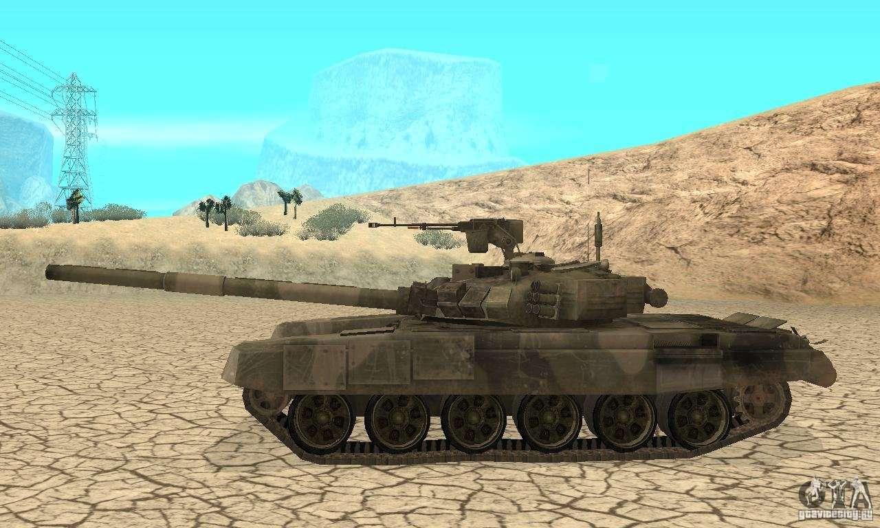 "Tank t-90 ""Vladimir"" for GTA San Andreas"