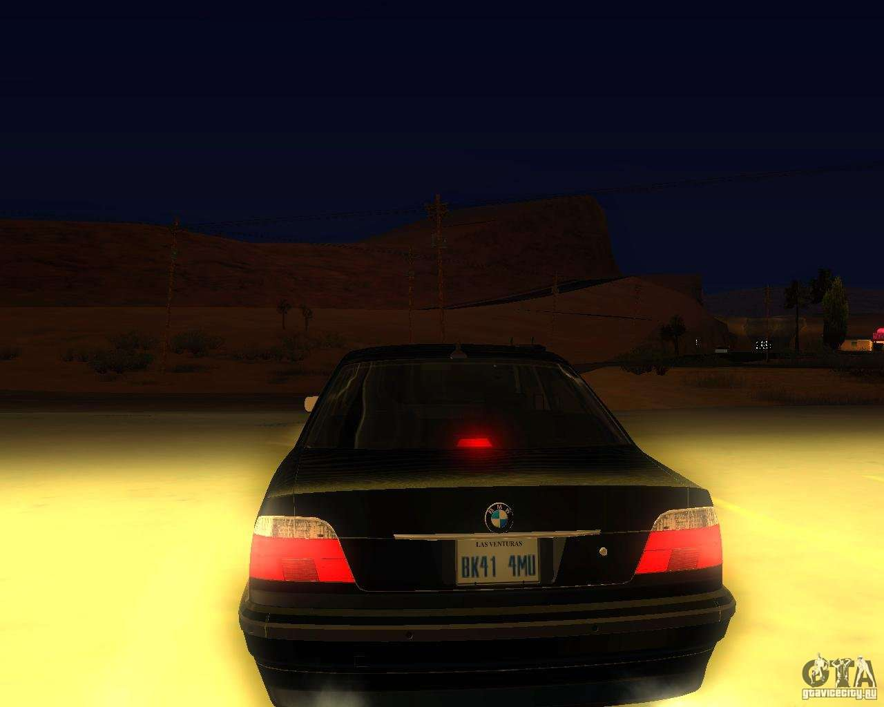BMW 750i E38 2001 M Packet For GTA San Andreas