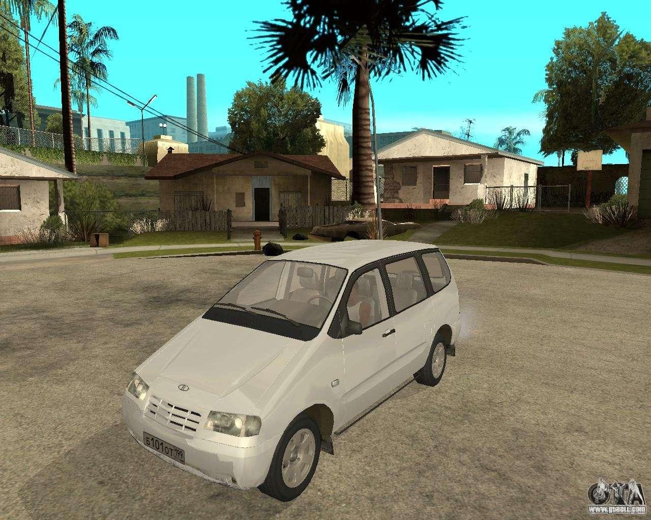 VAZ 2120 - the car is not for drift 64