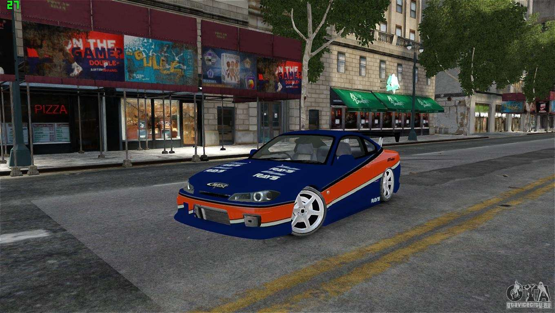 Nissan Silvia S15 Tokyo Drift for GTA 4
