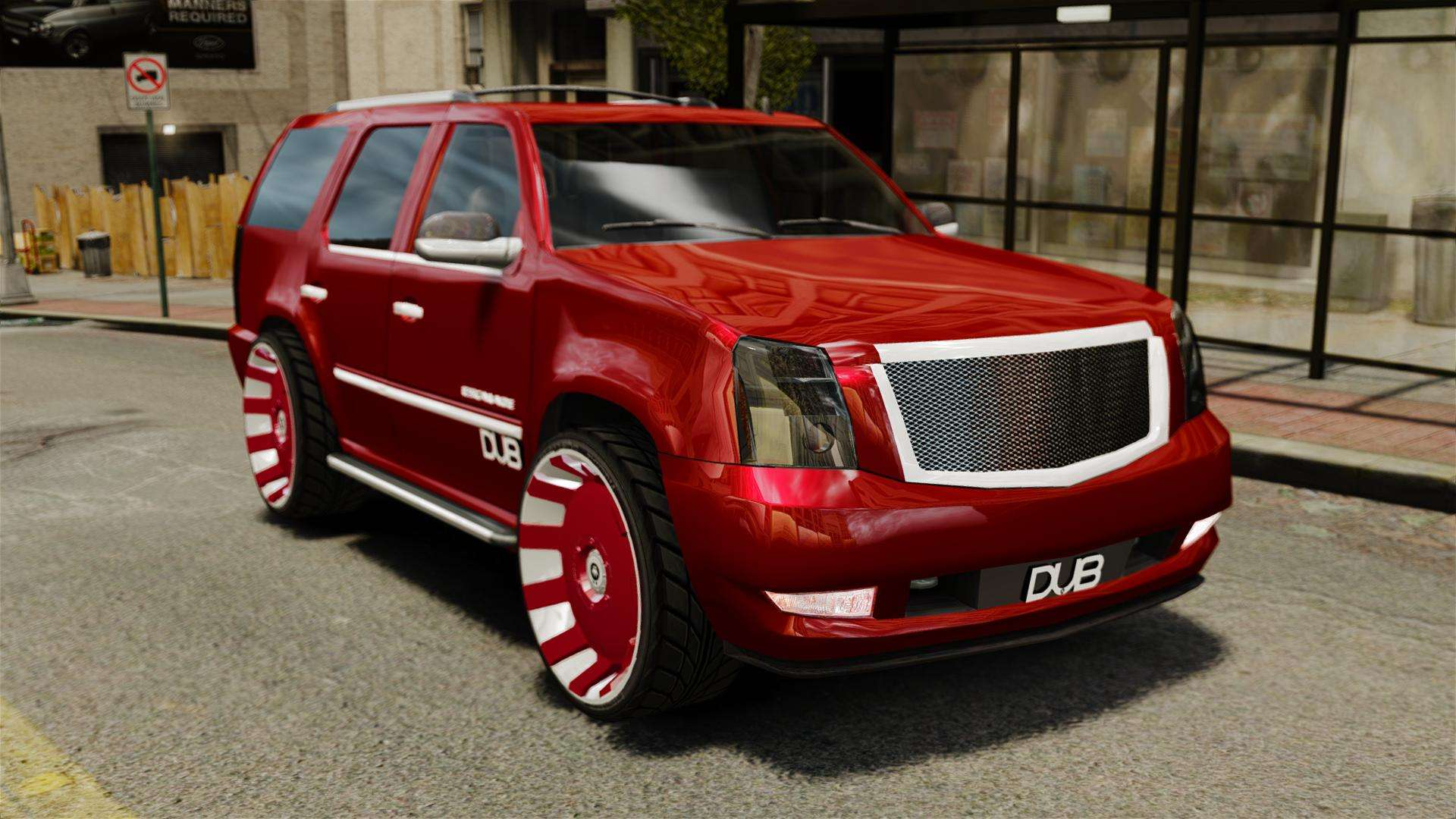 Cadillac Escalade 2011 Dub For Gta 4