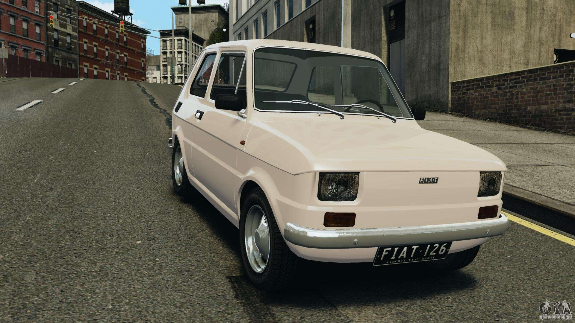 fiat 126 classic for gta 4. Black Bedroom Furniture Sets. Home Design Ideas