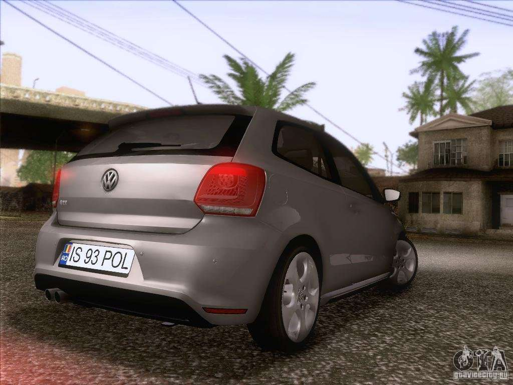 volkswagen polo gti 2011 for gta san andreas. Black Bedroom Furniture Sets. Home Design Ideas
