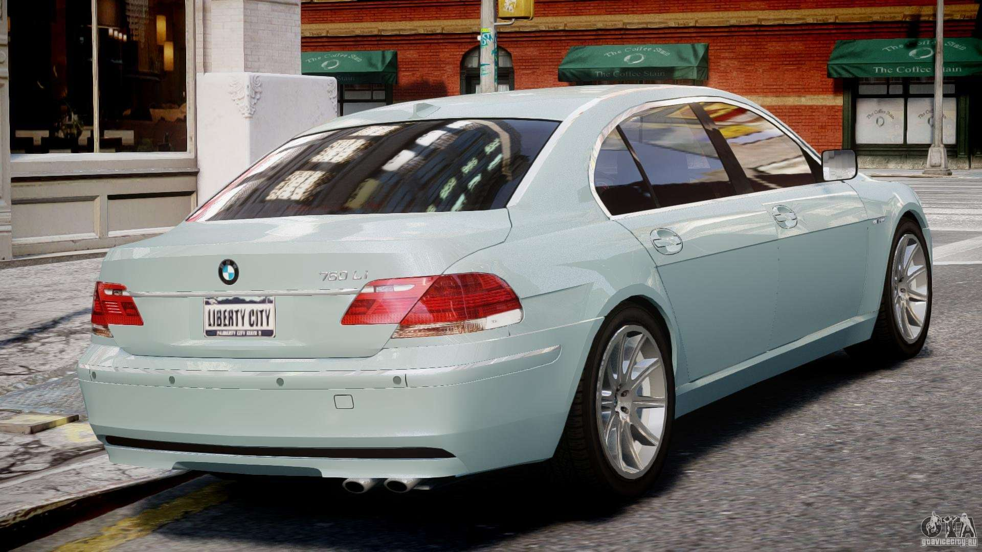 Bmw 7 series e66 for gta 4 right view