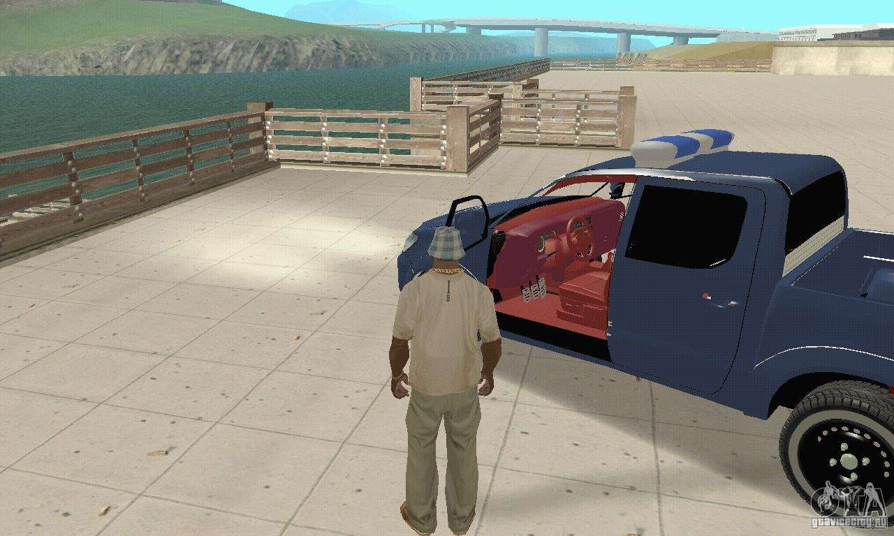 Toyota sequoia for gta san andreas back left view car interior