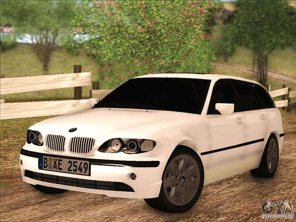 Bmw M3 E46 Touring For Gta San Andreas