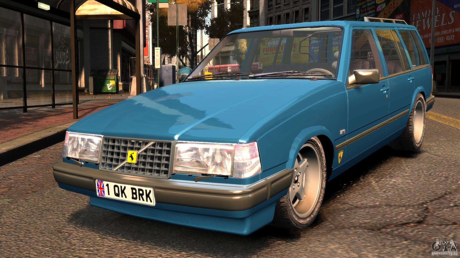 Volvo Wentworth R Ridiculous Drift For Gta