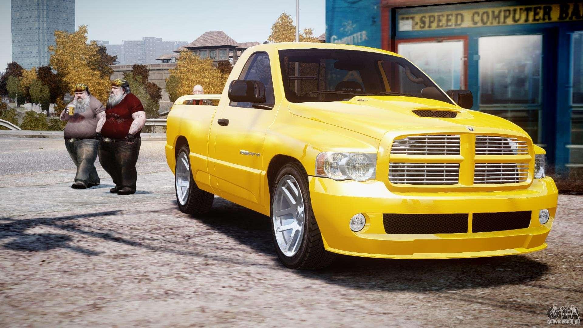 Dodge Ram Srt 10 2003 1 0 For Gta 4