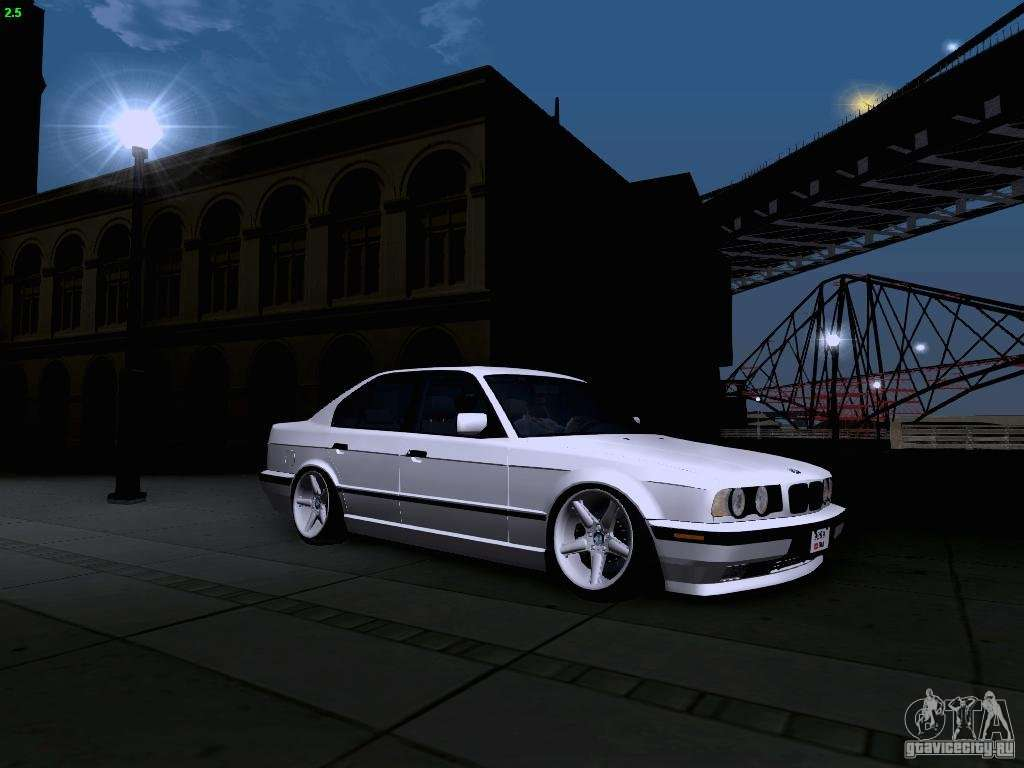 bmw m5 e34 stance for gta san andreas. Black Bedroom Furniture Sets. Home Design Ideas