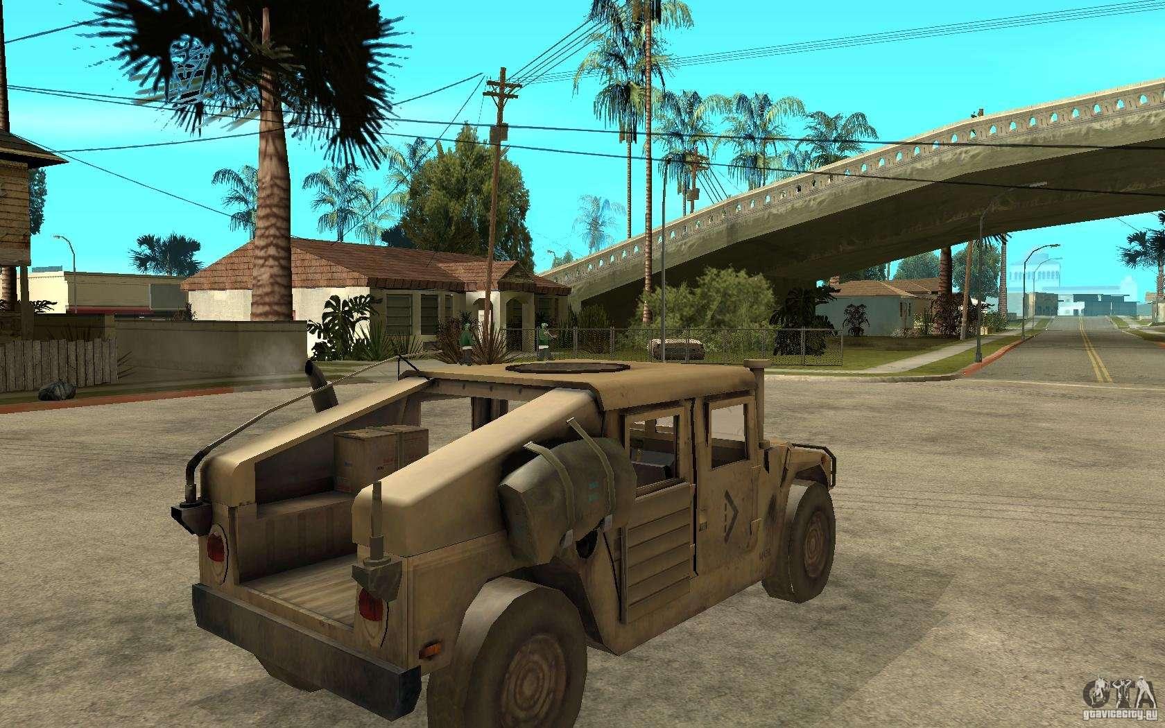 Hummer H1 War Edition For Gta San Andreas