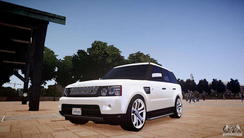 range rover sport supercharged v1 0 2010 for gta 4. Black Bedroom Furniture Sets. Home Design Ideas