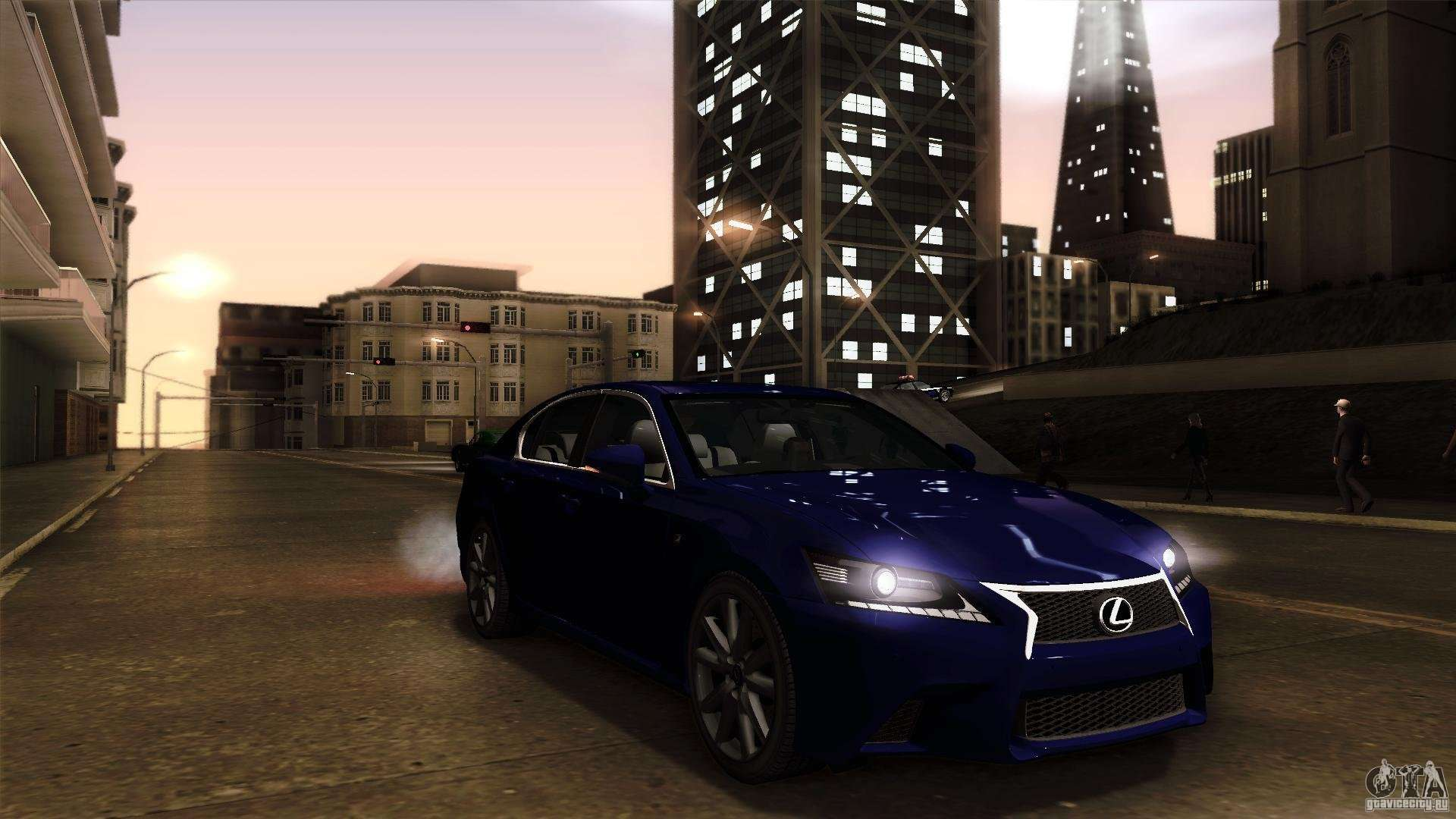 Lexus GS350F Sport 2013 For GTA San Andreas