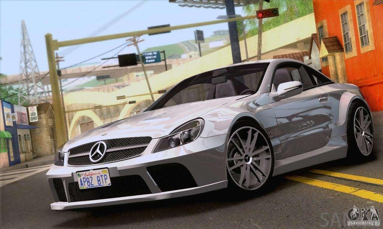 Mercedes benz sl65 amg black series for gta san andreas for Mercedes benz sl65