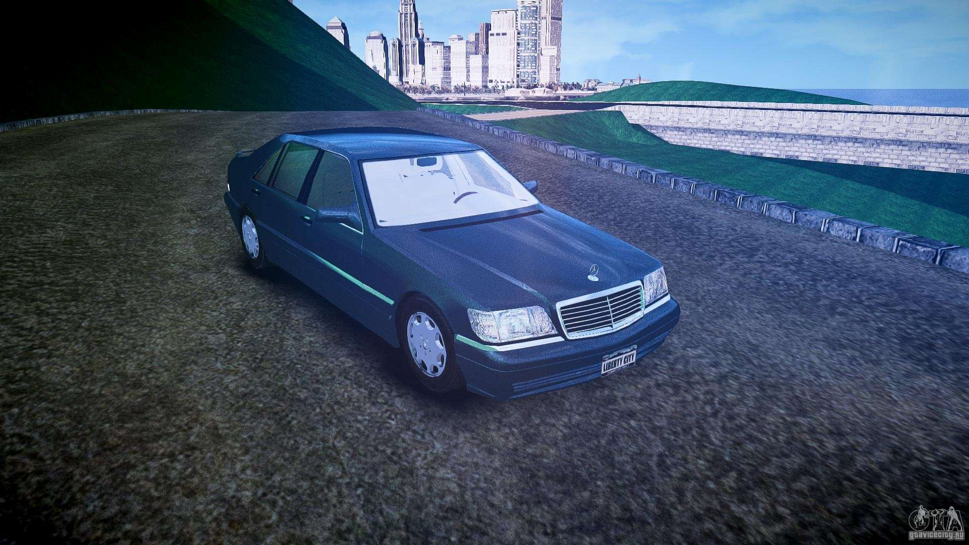 Mercedes benz sl600 w140 1998 higher performance for gta 4 for Performance mercedes benz