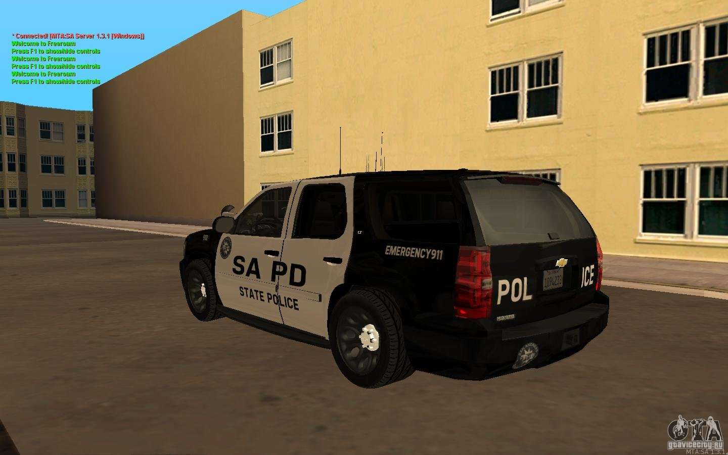 Chevrolet Tahoe 2015 >> Chevrolet Tahoe SAPD for GTA San Andreas