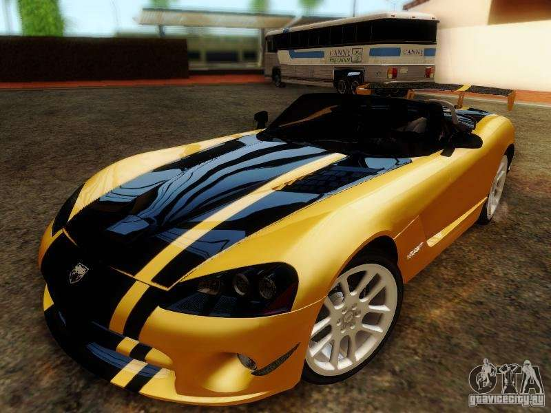 Dodge Viper Srt 10 Roadster Acr 2004 For Gta San Andreas