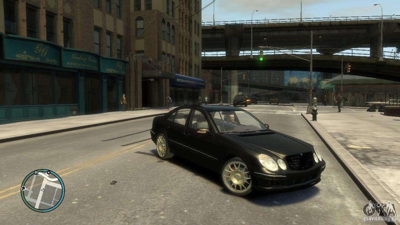 Mercedes Benz E Class Gta 4