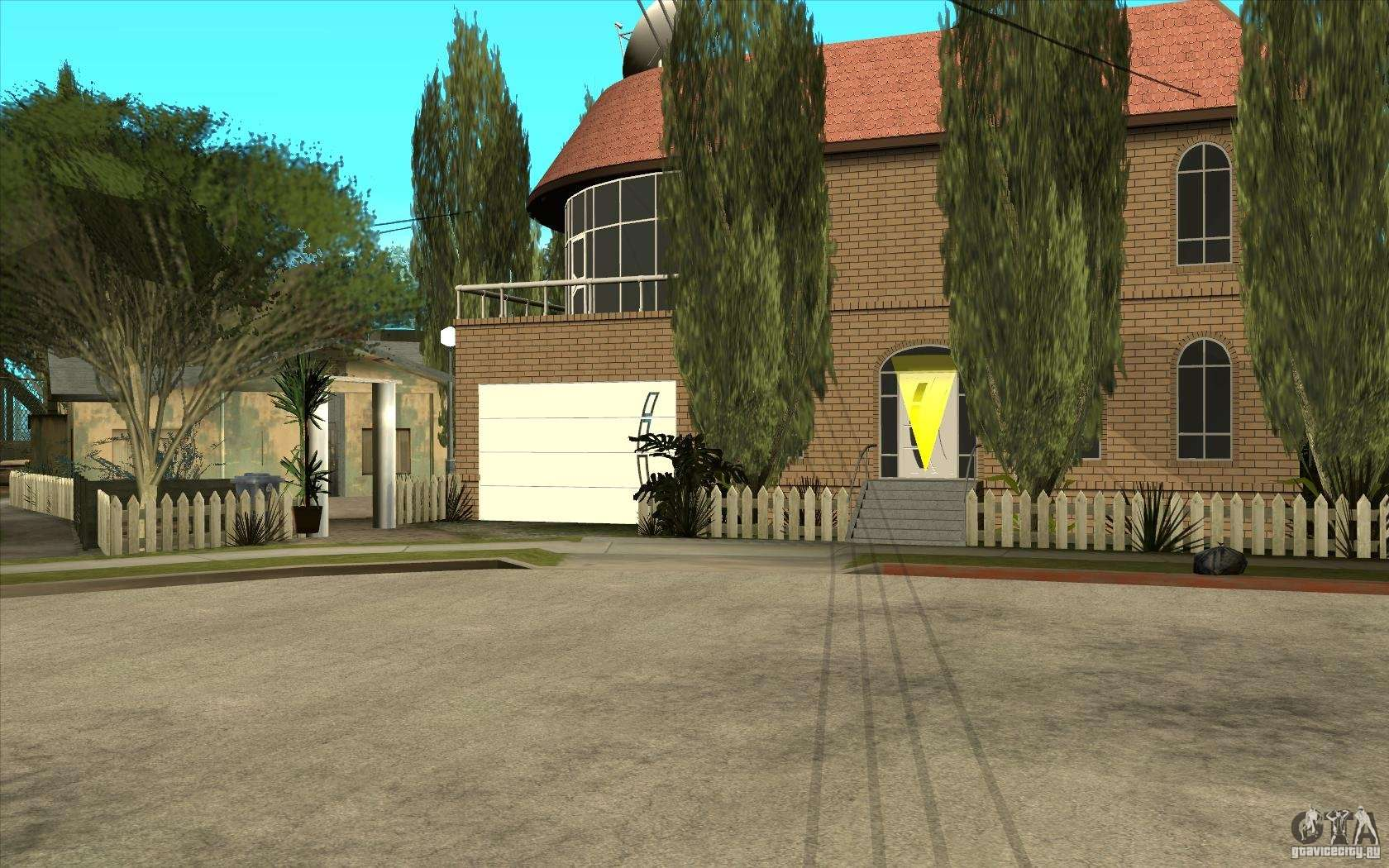 New grove street tado edition for gta san andreas for Grove house