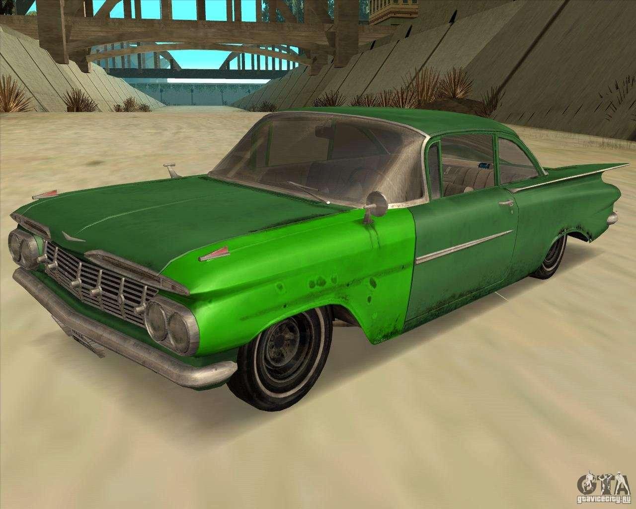 Chevrolet impala 4 door hardtop 1963 for gta san andreas - Chevrolet Biscayne 1959 For Gta San Andreas