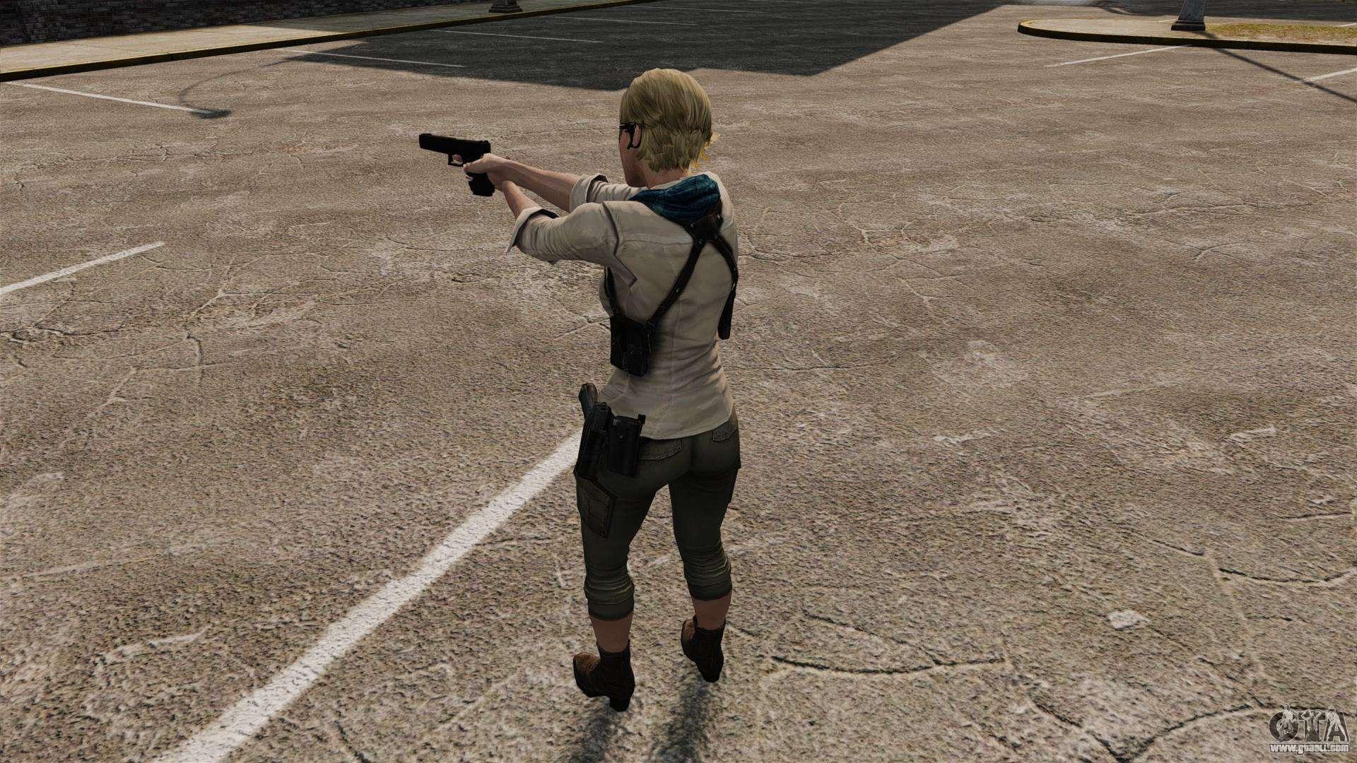 Sherry Birkin beta (Resident Evil) скачать для GTA 4 — GTA