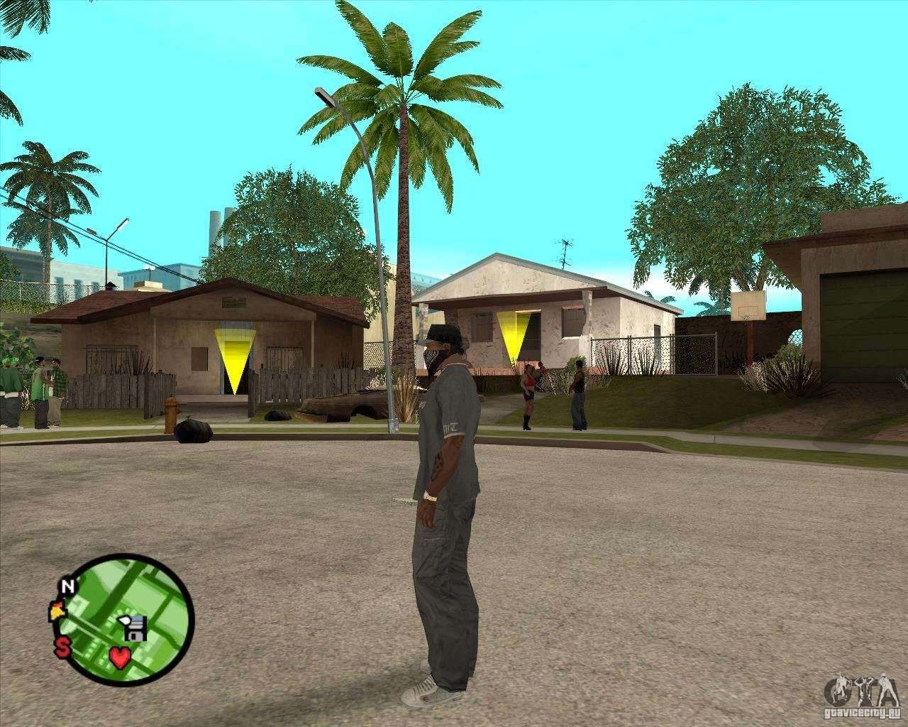 Go To Any House For Gta San Andreas