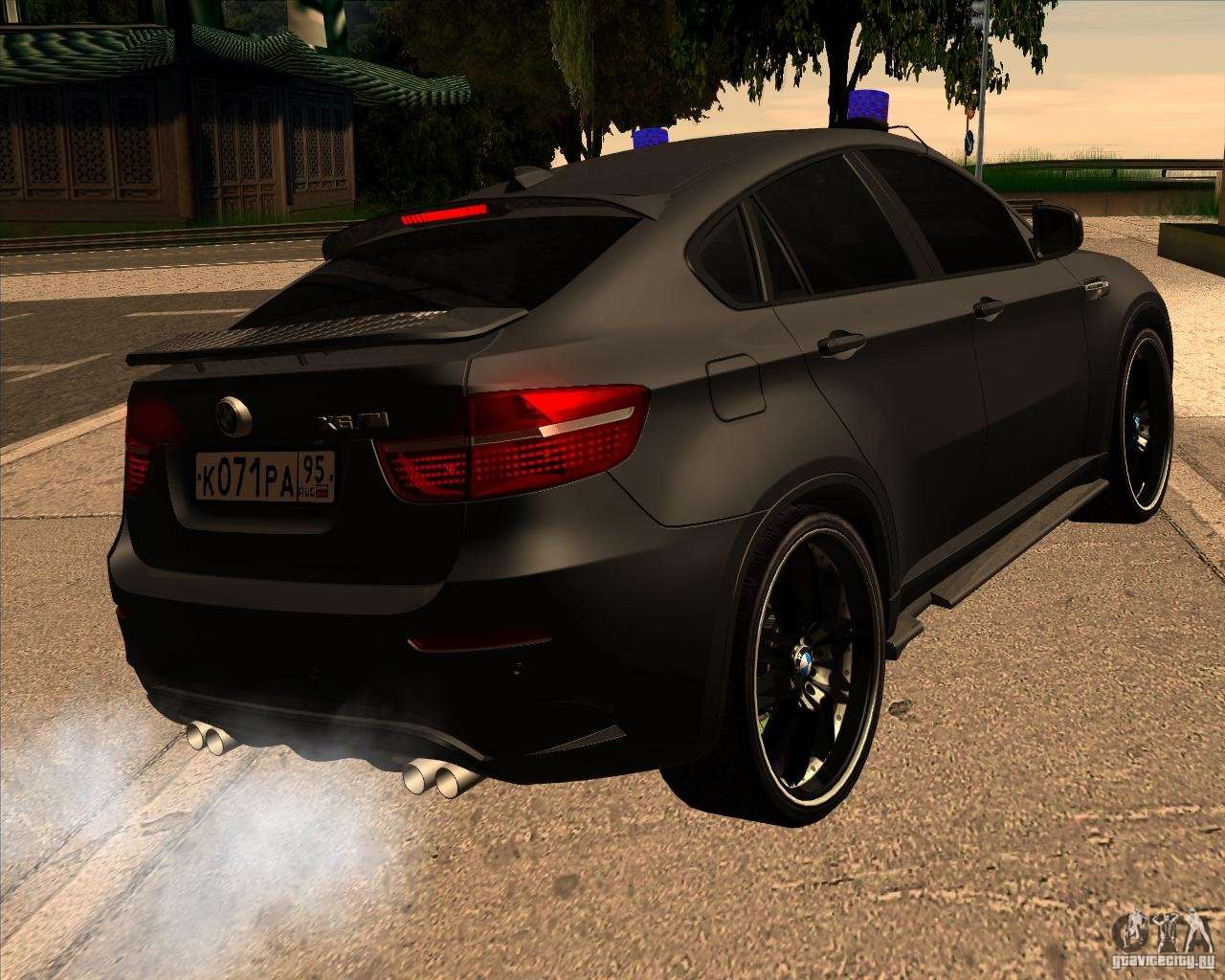 Bmw X6 M E71 For Gta San Andreas