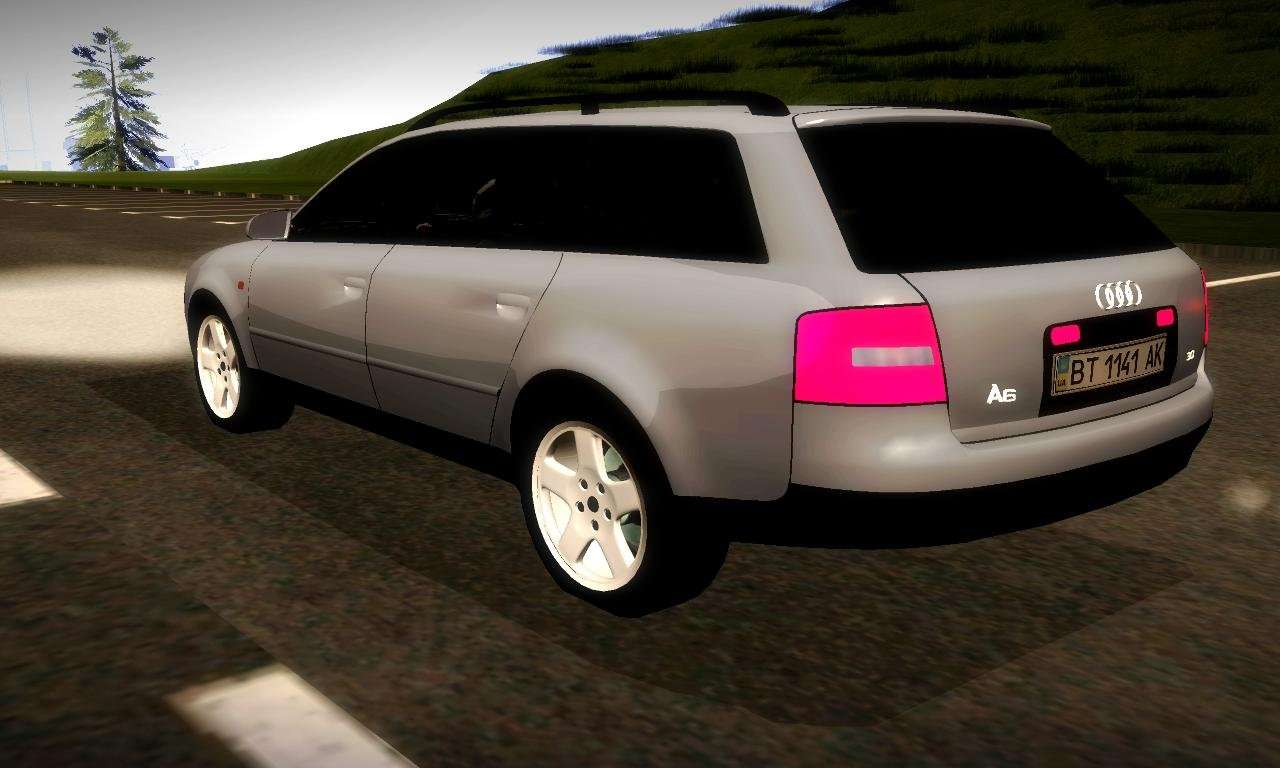 audi a6 c5 avant 3 0 for gta san andreas. Black Bedroom Furniture Sets. Home Design Ideas