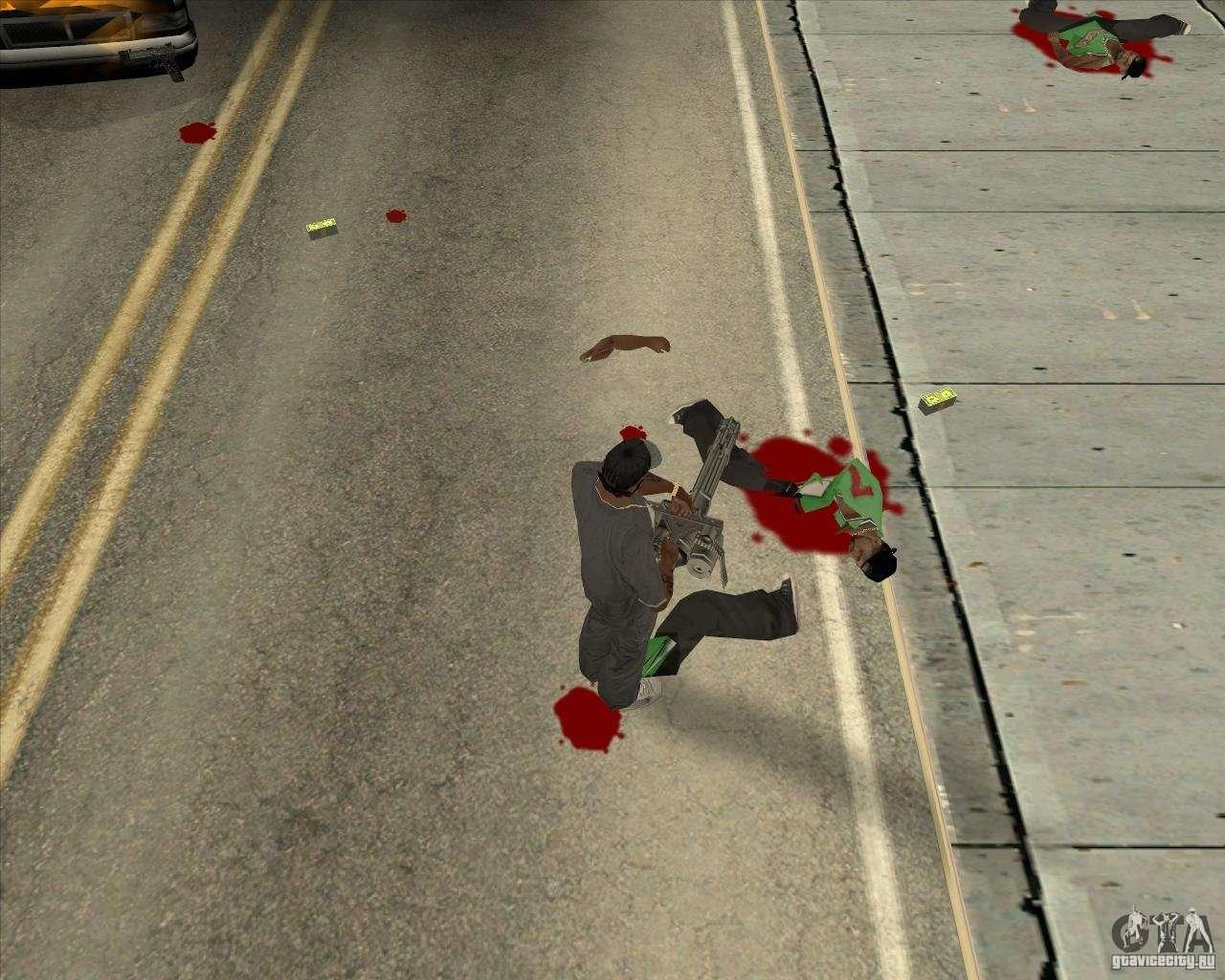 Real Ragdoll Mod Update 02 11 11 for GTA San Andreas