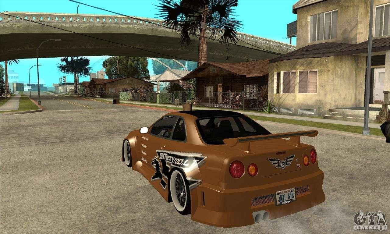 Nissan Skyline Gtr Emzone B Day Car For Gta San Andreas