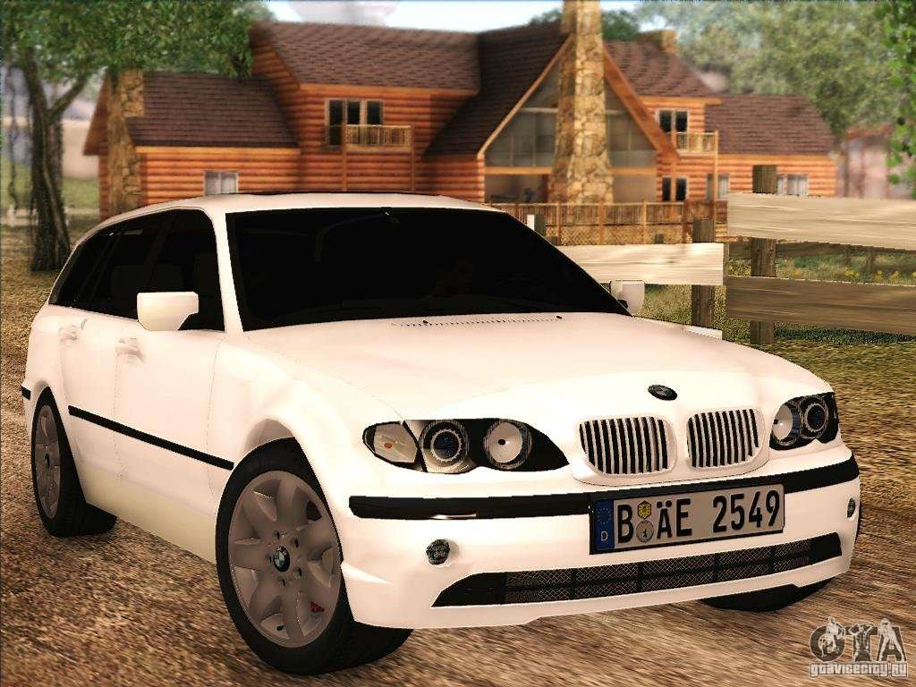 bmw m3 e46 touring for gta san andreas. Black Bedroom Furniture Sets. Home Design Ideas