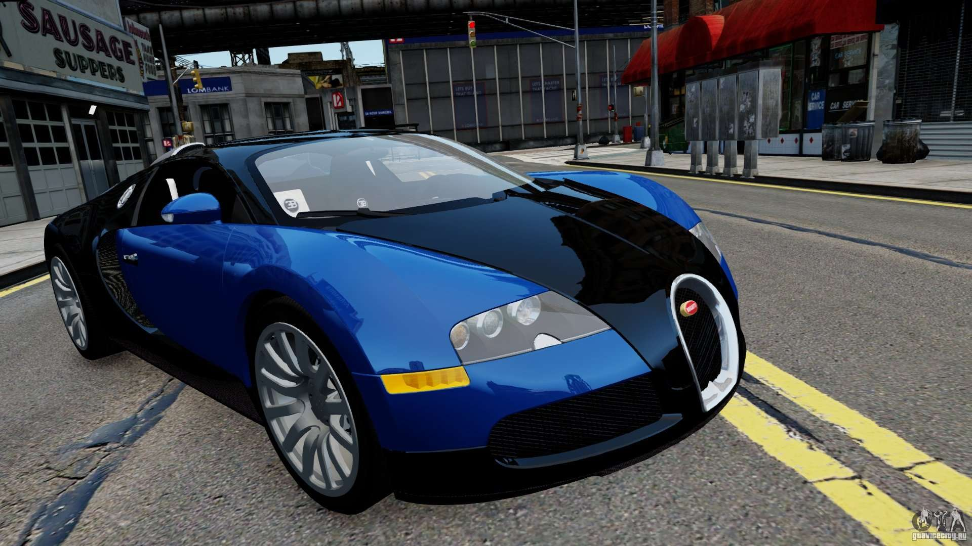 bugatti veyron 16 4 v1 0 wheel 2 for gta 4. Black Bedroom Furniture Sets. Home Design Ideas