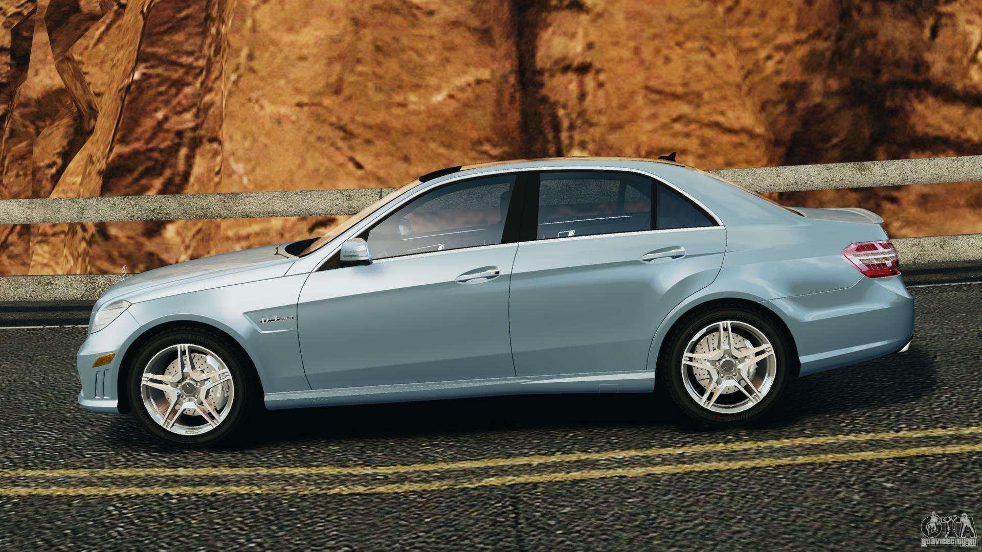 Mercedes benz e63 amg 2010 for gta 4 for Mercedes benz e63 2010