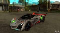 Mazda Furai V2 for GTA San Andreas
