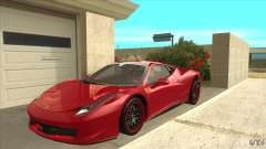 Ferrari 458 Italia Hamann for GTA San Andreas