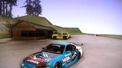Nissan Silvia S15 Blue Tiger