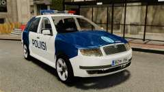 Skoda Fabia Combi Finnish Police ELS for GTA 4