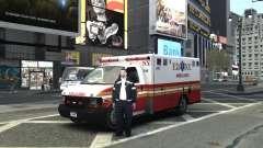 Chevrolet Ambulance FDNY v1.3 for GTA 4