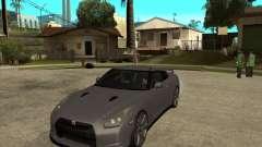 2008 Nissan GTR R35 for GTA San Andreas