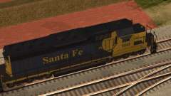SD 40 UP BN Santa Fe for GTA San Andreas