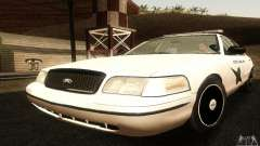 Ford Crown Victoria Washington Police for GTA San Andreas