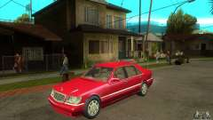 Mercedes-Benz S600 1999 for GTA San Andreas
