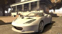Lotus Evora 2009 for GTA 4