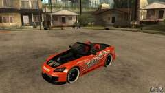 Honda S2000 CHARGESPEED for GTA San Andreas
