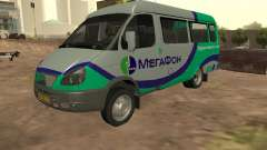 Gazelle 32213 Megaphone for GTA San Andreas