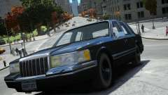 Lincoln Towncar 1991