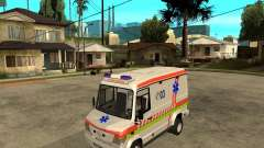 Mercedes-Benz Vario 512 D Ambulamce for GTA San Andreas