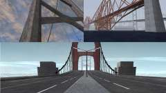 New textures of three bridges in SF