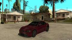 BMW M3 2009 for GTA San Andreas